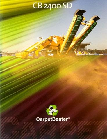 galesloot cb2400sd Carpet Beater