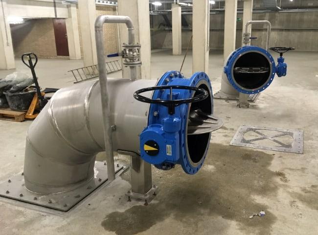 Waternet RVS leidingwerk